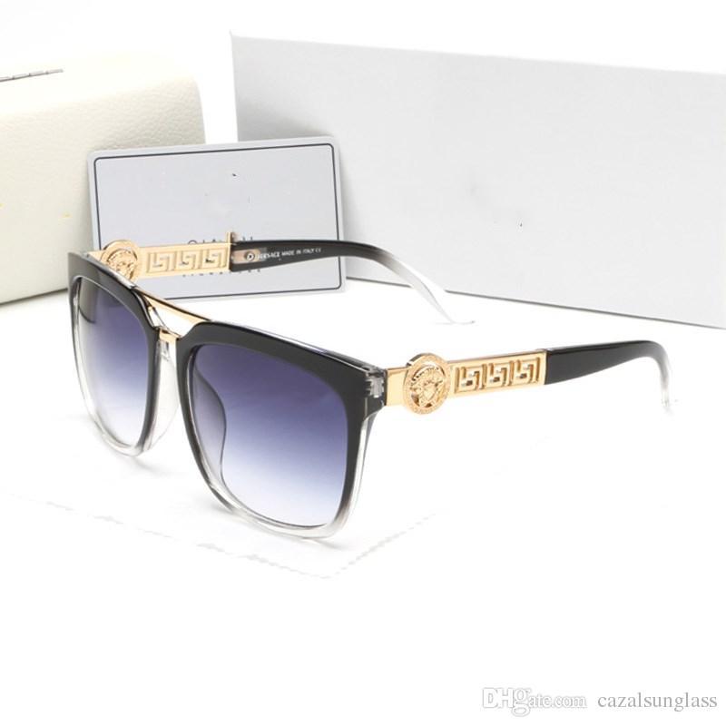 ee9e5c048f7b Wholesale Summer Style Italy Brand Medusa Sunglasses Women Men Brand ...