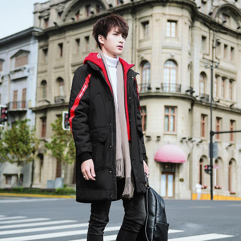 Winterjas Heren 2019.2019 Winter Men Jacket Warm Male Coats Winterjas Heren Fashion Thick