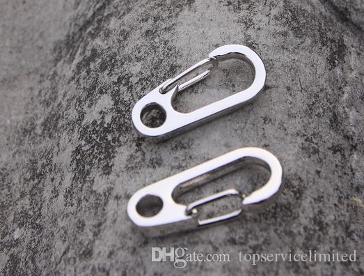 E-34 EDC Mini D зацепления Открытый Многофункциональный инструмент из нержавеющей стали брелок Key висячие Переносные инструменты Карабин Крюк