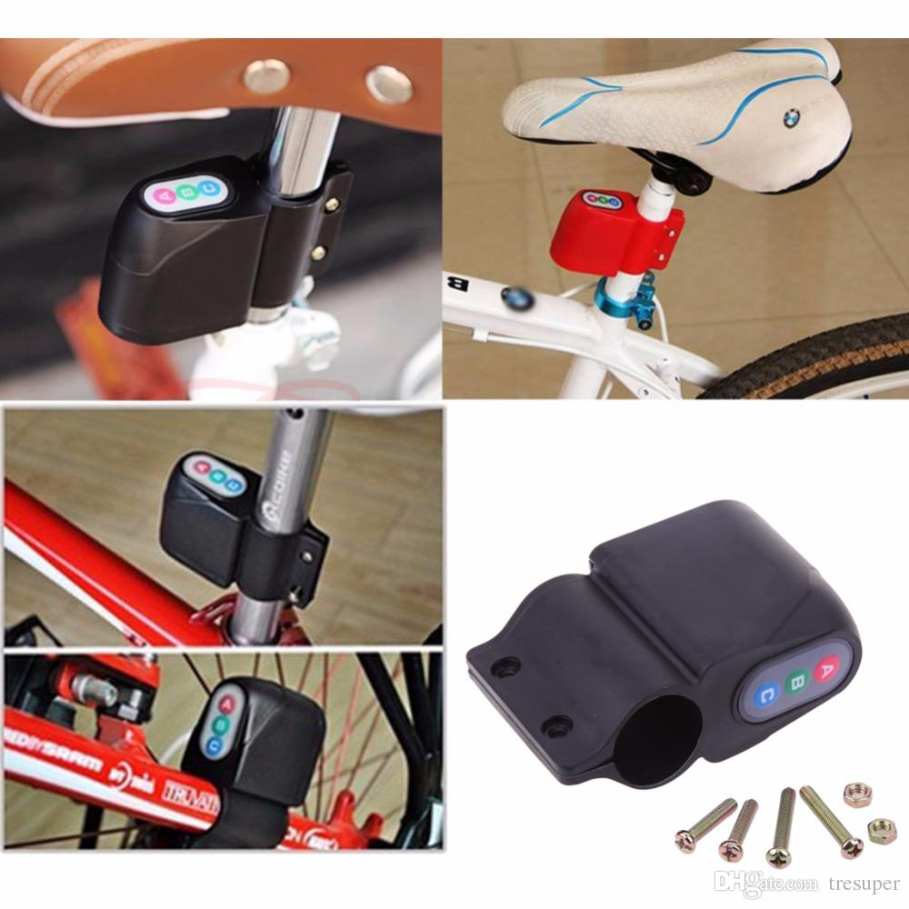 Bicycle Lock Anti-theft Cycling Security Lock Bicycle Alarm for Mountain Road Bike Top Quality