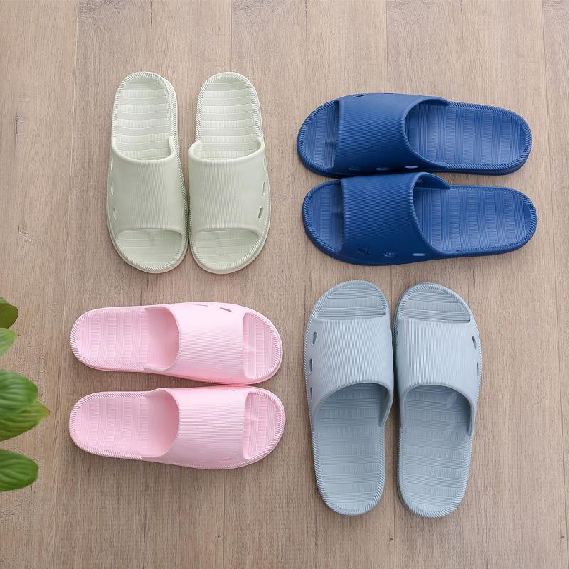 39045fdda52b1 2019 Summer Couples Massage Slippers Bath Non Sliding Soft Bottom Slippers  Men And Women Home Indoor Shoes Japanese Style From Wildrose021