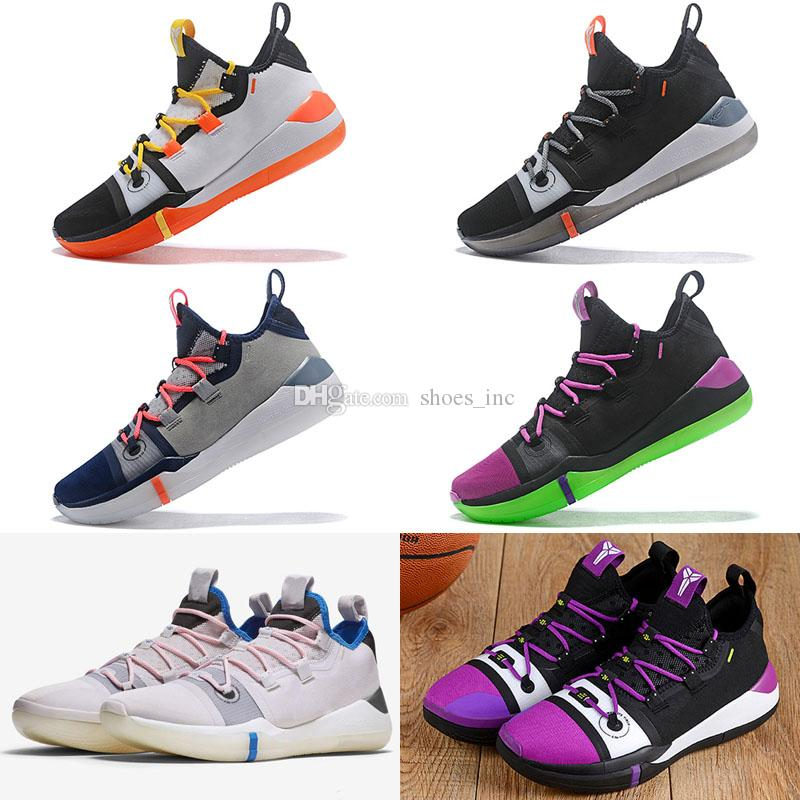 d52a7500eb8 2019 Top Quality Kobe A.D 2018 Shoes For Sale Kobe Day Black Mamba  Basketball Shoes Shop US7 US12 From Shoes inc