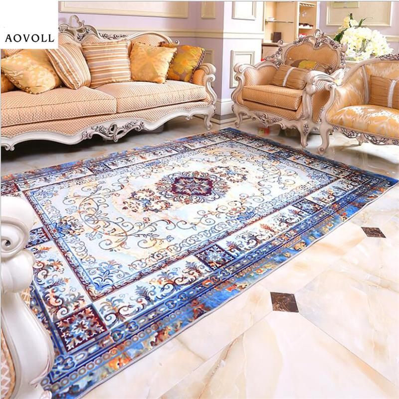 AOVOLL New European Style Soft Carpets For Living Room Bedroom Kid Room Rugs  Home Carpet Floor Door Mat Delicate Large Area Rug Buying Carpet Carpet  Costs ...