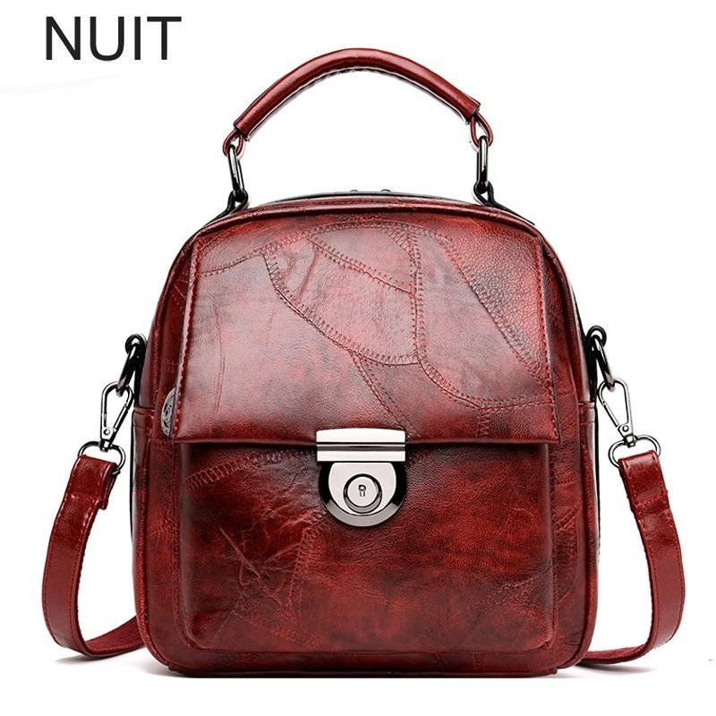 42e7224e17a8 Women Ladies Handbags PU Leather Famous Brand Top-Handle Messenger ...
