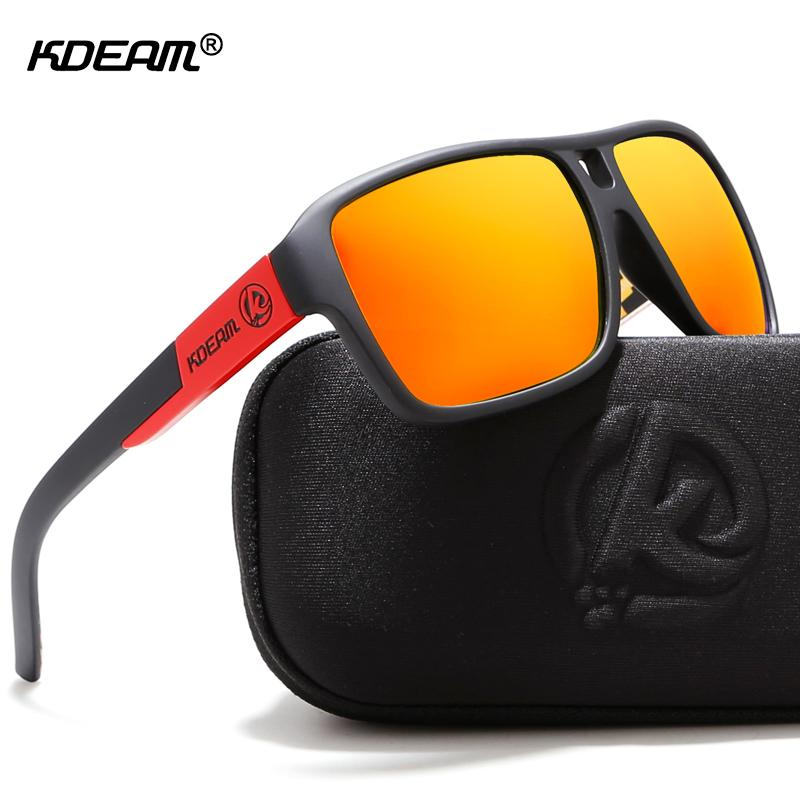 9dfaf2b320e KDEAM Protect Your Eyes Jams Polarized Sunglasses Men Matte Black Sun  Glasses Man Surf Sport Sunglass With Package KD520 D18101302 Heart  Sunglasses Circle ...