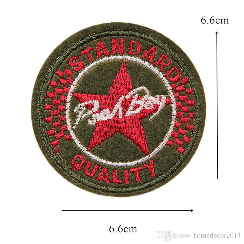 7 Patch Ricamo USA Army Military Bracciale Medaglia Cucire Ferro Sul Ricamato Distintivi Borsa Jeans Cappello T Shirt Appliques FAI DA TE Decorazione del Mestiere
