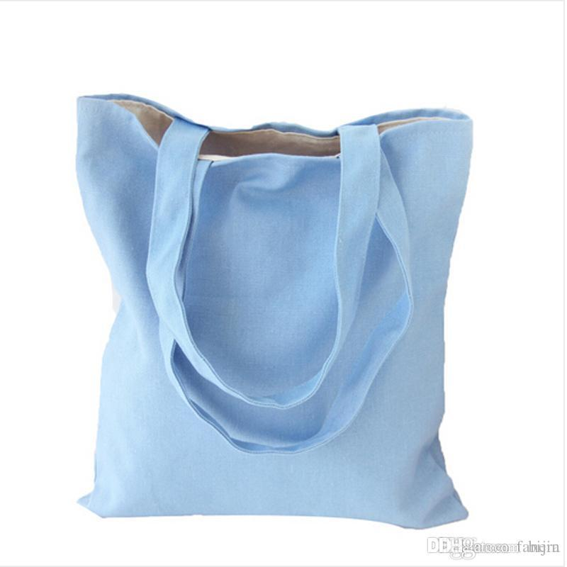 Wholesale Eco Reusable Shopping Bags 2016 Cloth Fabric Grocery Packing  Recyclable Bag Hight Simple Design Healthy Tote Handbag Recycled Bags  Designer ... 4ef690a7b0c05