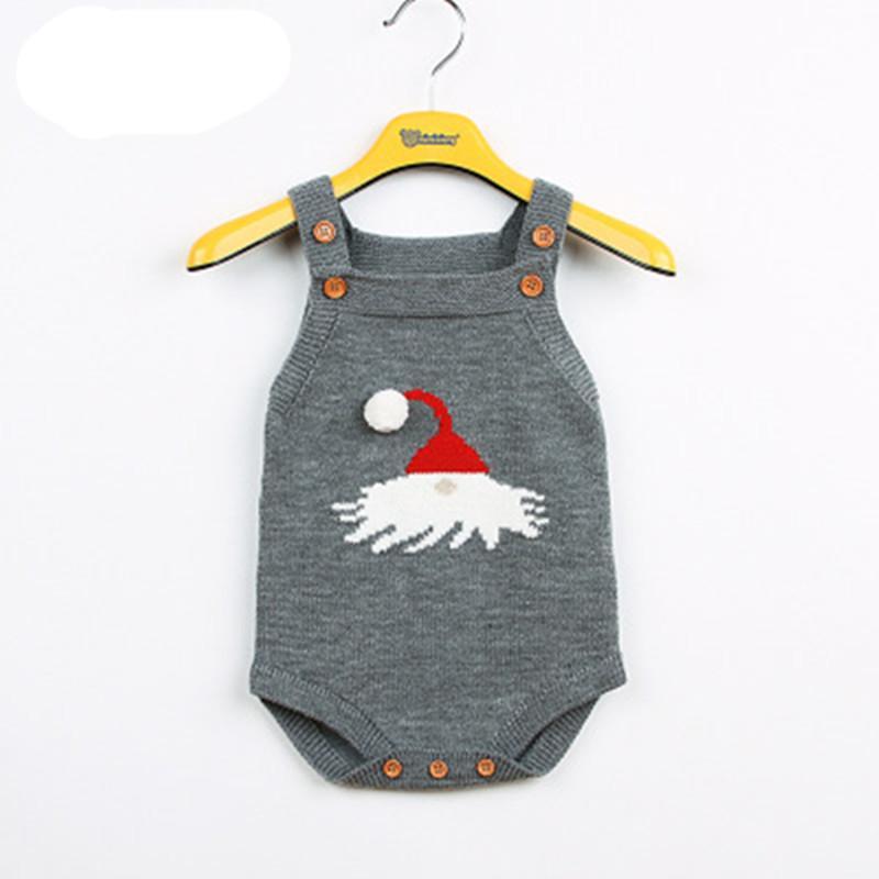 Compre Bebé Mono Slingy Santa Navidad Sombrero Con Butt Haunch Dibujos  Animados Niño Niña Mameluco Infantil Cálido Algodón Spirng Otoño Ropa De  Bebé A ... f95ecfb023fe