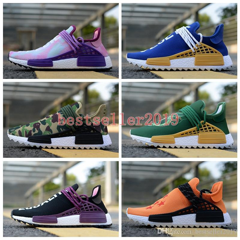 clearance 2014 Human Race Shenron Dragon Ball Pharrell Williams Casual Shoes Holi Pink Son Goku Men Women Hu Trail Vegeta Holi Equality cream Sneakers sale extremely store for sale free shipping authentic discount outlet store BNAzrGIX