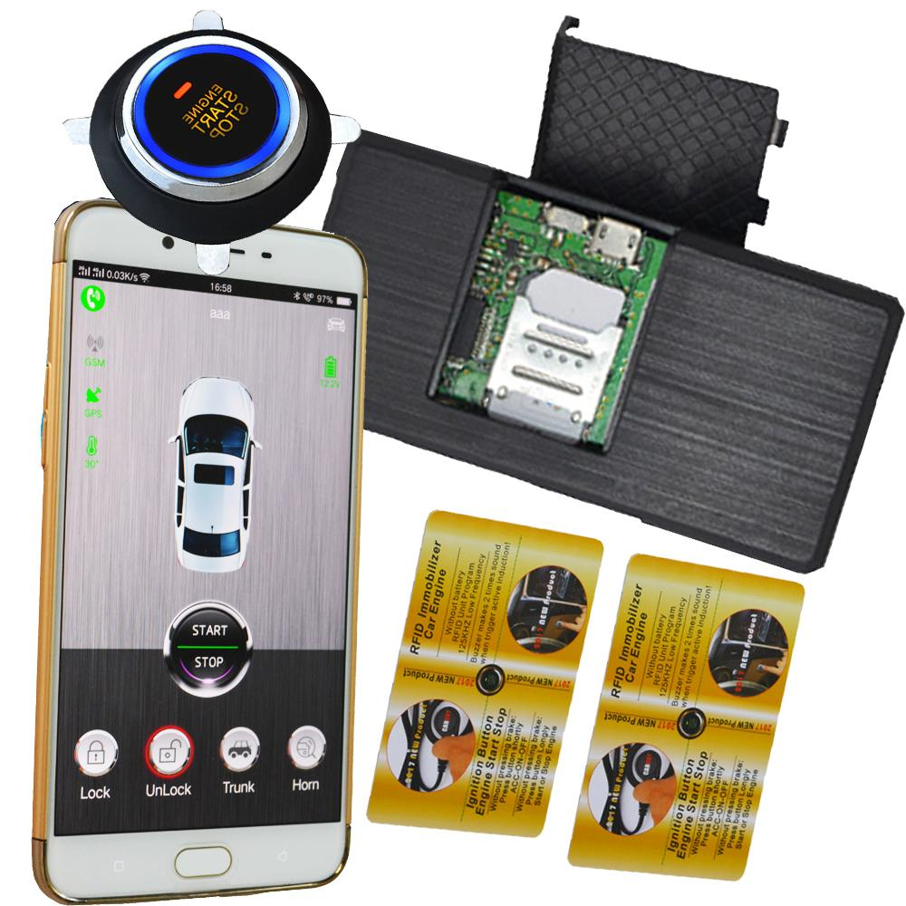 2018 Car Invisible Alarm System With Remote Start Stop Function By Starter Product Original Key Mobile App Online Gps Tracking Discount From Bestliner