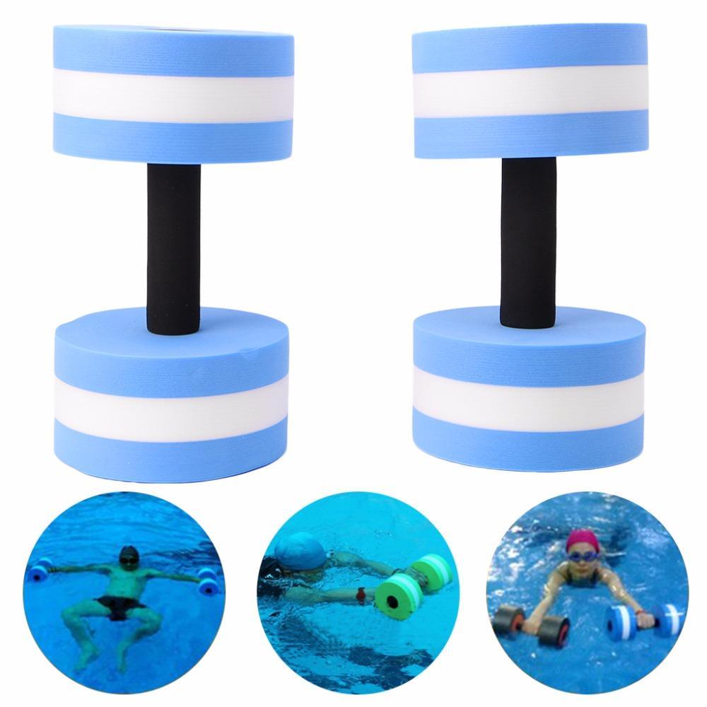 408a3d943a7 Water Aerobics Dumbbell Medium Foam Aquatic Barbell Fitness Pool ...