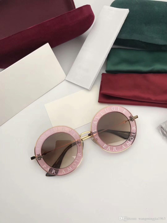 Yeni En Kaliteli 0113 Erkek Güneş Kadınlar Güneş Gözlüğü Moda Stil UV400 Lens Gözler Gafas De Sol Lunettes de Soleil Kutusu ile Korur