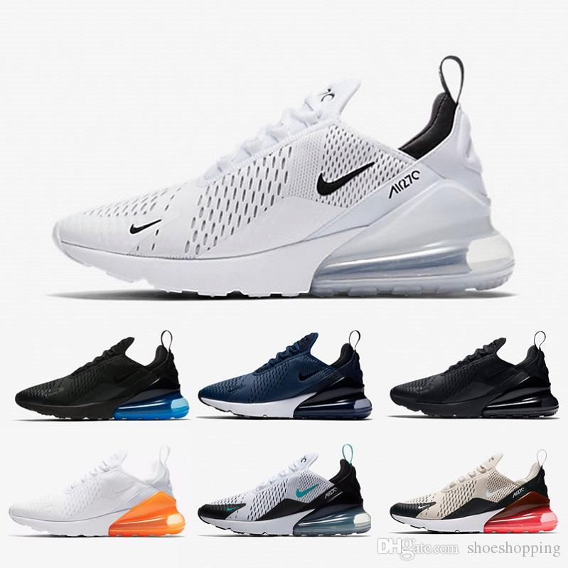 7545c0d67ff Hot Sale 270 Running Shoes Men Bruce Lee Teal Black White Sneakers ...