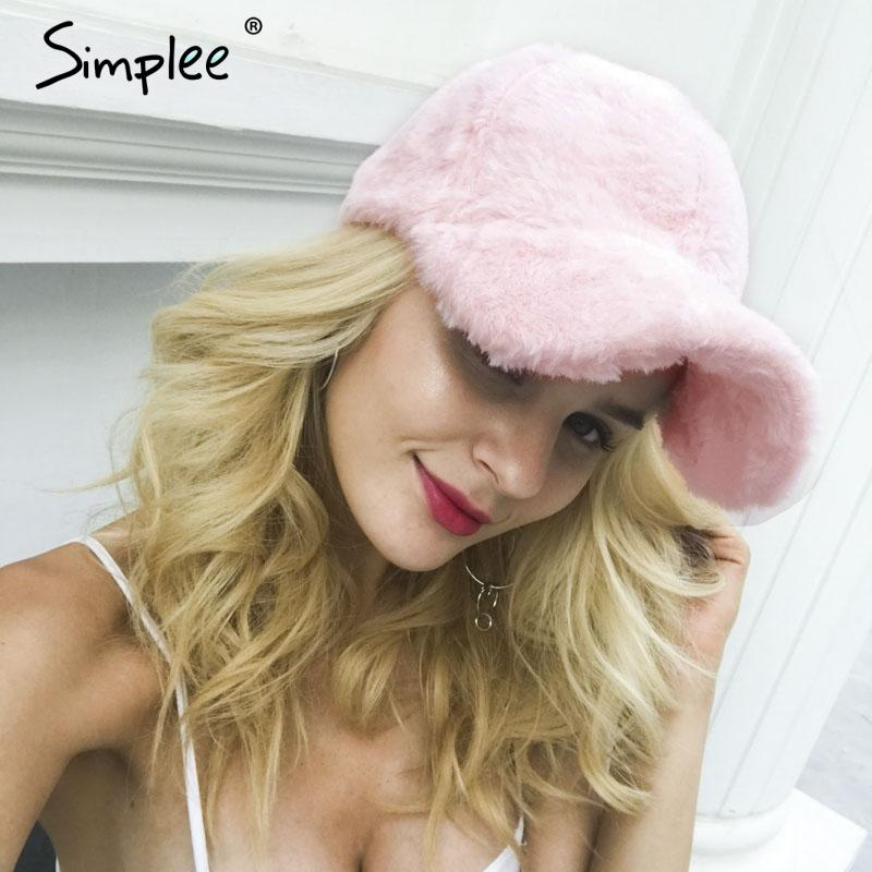 6ede9dc98d3 Simplee Winter Pompom Pink Suede Baseball Cap Women Autumn Casual  Streetwear Black Hat Cap 2017 Elegant Female Hat Caps Online Hats And Caps  From Arrowhead
