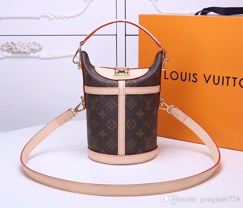 6a9bd39031d0 NEONOE Shoulder Bags Noé Leather Bucket Bag Women Famous Brands Designer  Handbags High Quality Flower Printing Crossbody Bag Purse UK 2019 From  Gongjun0724