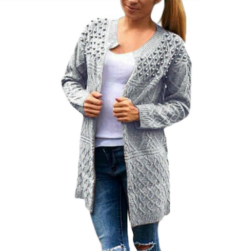 920477dfd136f 2019 MUXU Sweater Women Invierno Veste Femme Long Sleeve Knitted Sueteres Mujer  De Moda Cardigan Chompas Largas Y Sueltas Para Mujer From Beautyjewly
