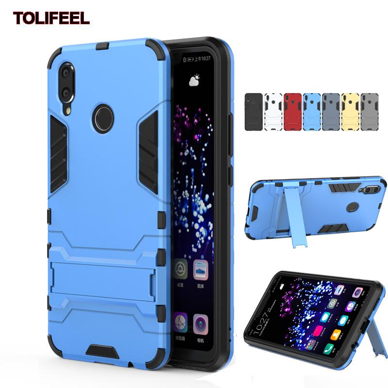 detailed look 6308b b9a70 For Huawei Nova 3i Case Silicone Robot Armor Protector Hybrid Rugged Rubber  Cover For Huawei Nova 3 3i Kickstand Cases