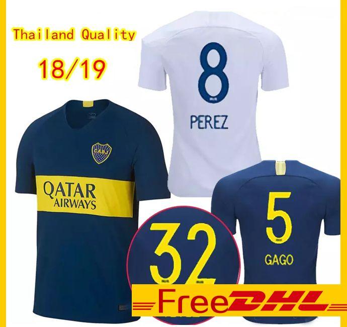 de8eef7271f 2019 DHL Free Thai Quality 2018/19 Boca Juniors Soccer Jerseys Outdoor T  Shirts 18 19 Argentina League Boca Shirt Outdoor T Shirts From Jjerseys00,  ...