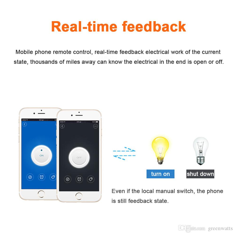 Sonoff Wifi Switch UniversalMobile Phone APP Remote Wifi Wireless Remote Control Time Socket Switch smart home