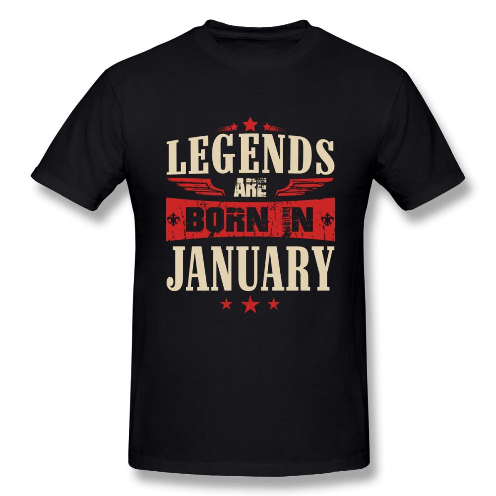 1bce7a7f5 For Man Legends Are Born In January T Shirt Retro T Shirt Birthday Gift  Tees Cheap Funny T Shirts Cheap T Shirt From Aringstore, $24.2| DHgate.Com