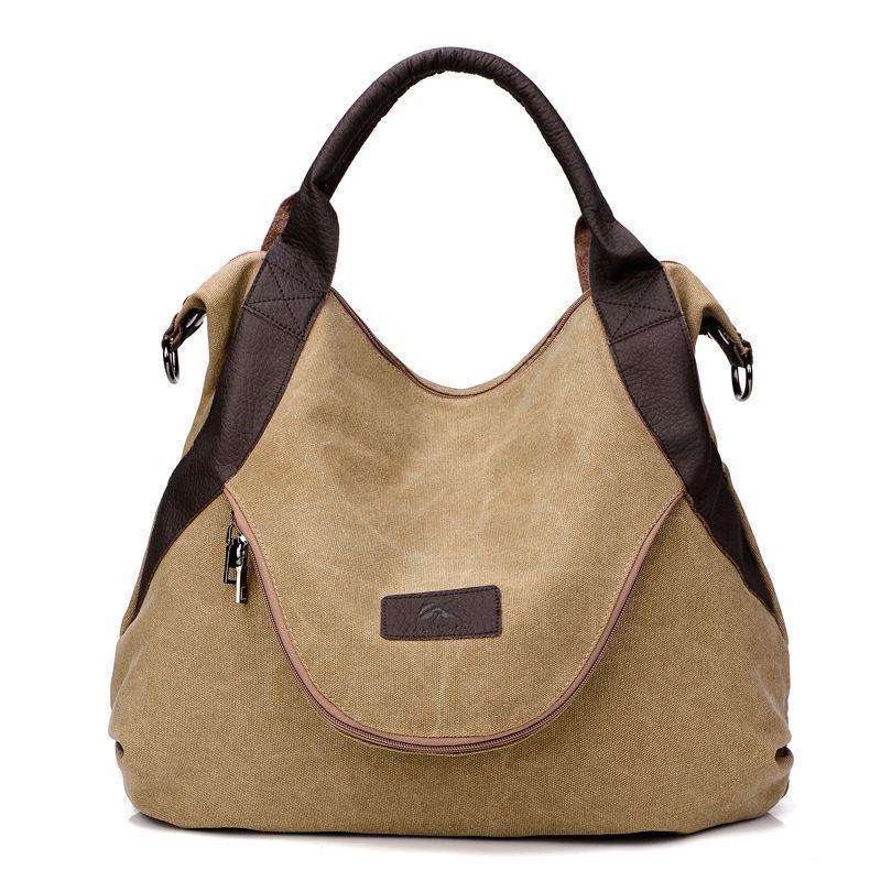 Wholesale 2018 Hot Sale Fashion Women Shoulder Bag Canvas Messenger Bag  High Quality Handbags Large Capacity Crossbody Bags Tote Discount Designer  Handbags ... 1edfb62bfa202
