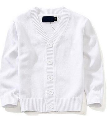 4407acc26b67 Autumn Kids Cardigan Coat Boy Sweaters Candy Colored 100% Cotton ...
