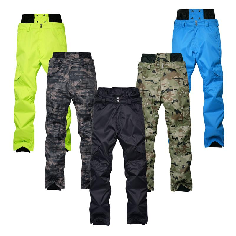a3de636011 2019 30 Men Snow Pants Skiing And Specialty Snowboarding Trousers ...