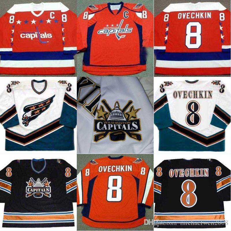 reputable site 9f495 4c7c9 alex ovechkin throwback jersey