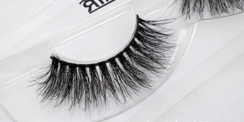 Selling 100% Real Siberian 3D Mink Full Strip False Eyelash Long Individual Eyelashes Mink Lashes Extension 10 styles