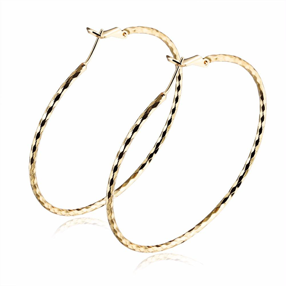 73bb8e674 Wholesale Exaggerated Round Hoop Earrings For Women Corrugated ...