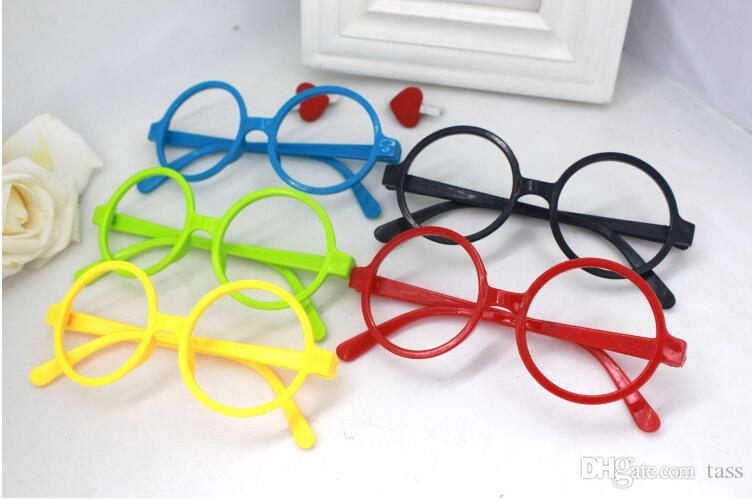6bdb7fc1555 Uinsex Decorative Eye Glasses Frame for Boy Round Spectacle Frames ...