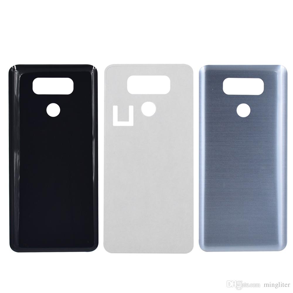Para LG G6 H870 H871 H872 Cubierta trasera de la batería cubierta trasera de la caja de la caja de vidrio para LG G6 H870 H871 H872 Cubierta de la batería + herramientas