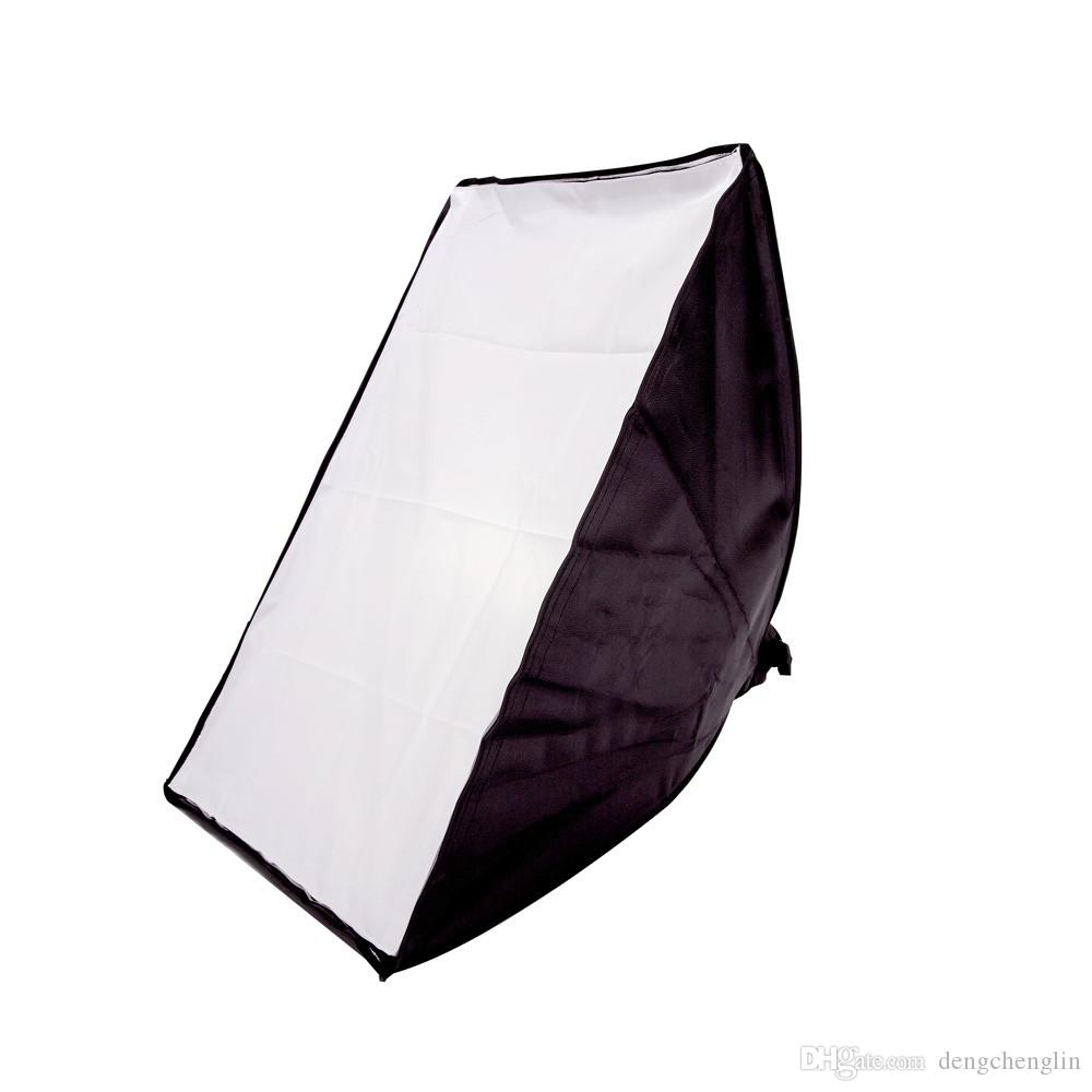 50*70CM Photography Studio Wired Softbox Lamp Holder with E27 Socket for Studio Continuous Lighting With Carry Bag