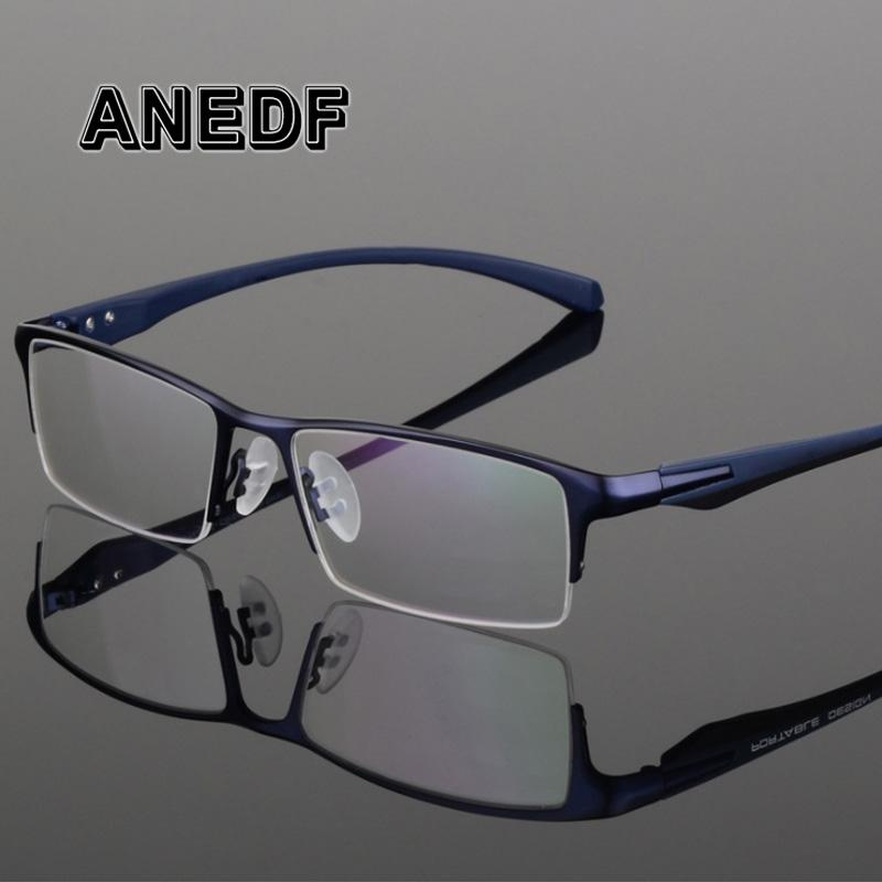 41aa54eaed 2019 ANEDF TR90 Titanium Alloy Glasses Frame Men Myopia Eye Glass  Prescription Eyeglasses 2018 Men Optical Frames Eyewear 065 From  Mandarin18