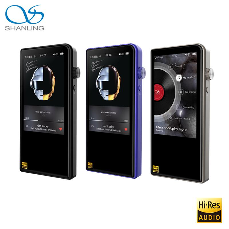 Shanling M3S Bluetooth 4 1 Apt-X Lossless Portable Music MP3 Player Retina  DOP DSD256 Hi-Res Audio Balanced Out PO/LO Hiby Link