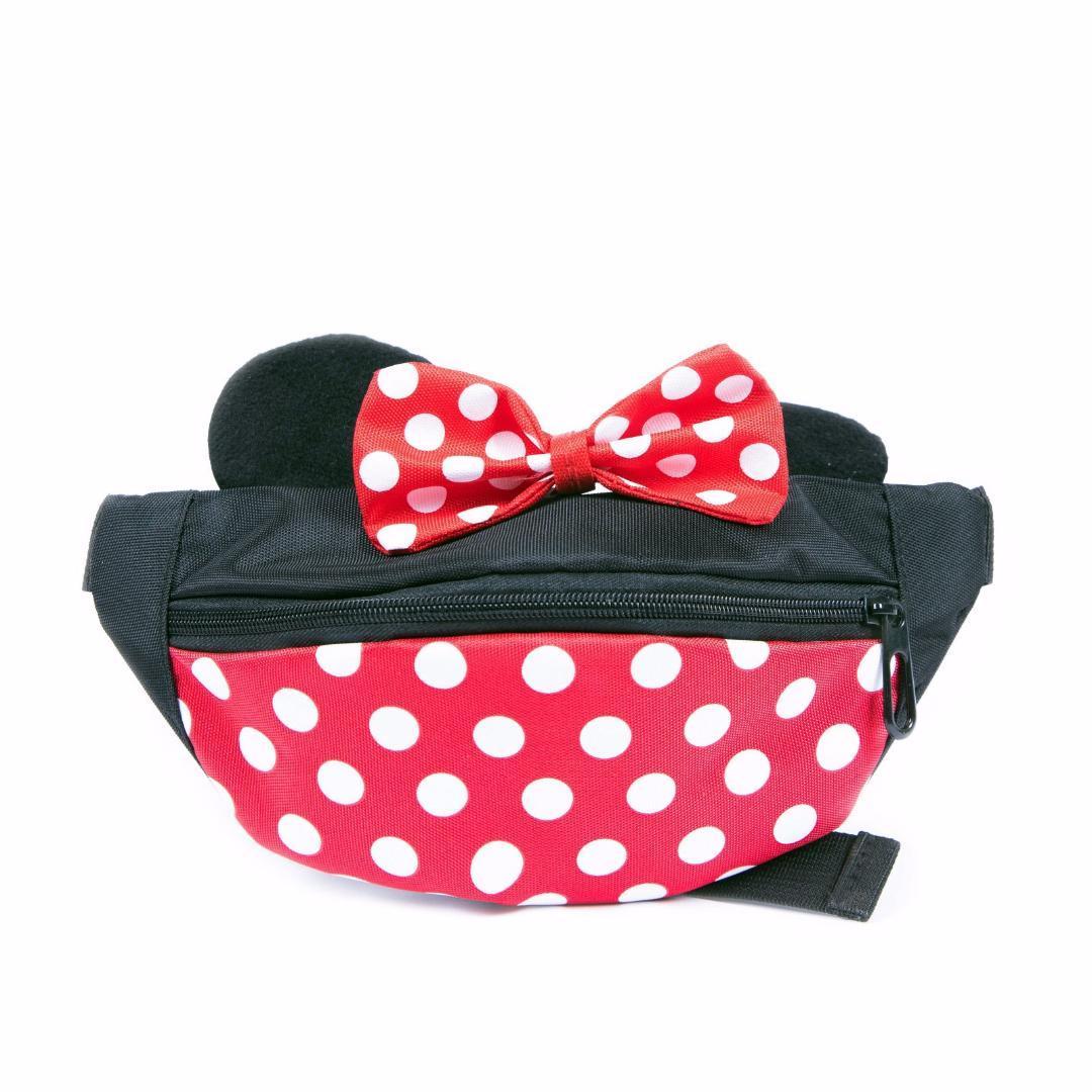 2263e787874 New Children Waist Bag Kid Fanny Packs Fashion Oxford Mouse Head Bow Dot  Belt Pack Boy Girl Baby Money Waist Bags Vintage Backpacks Backpacks With  Wheels ...