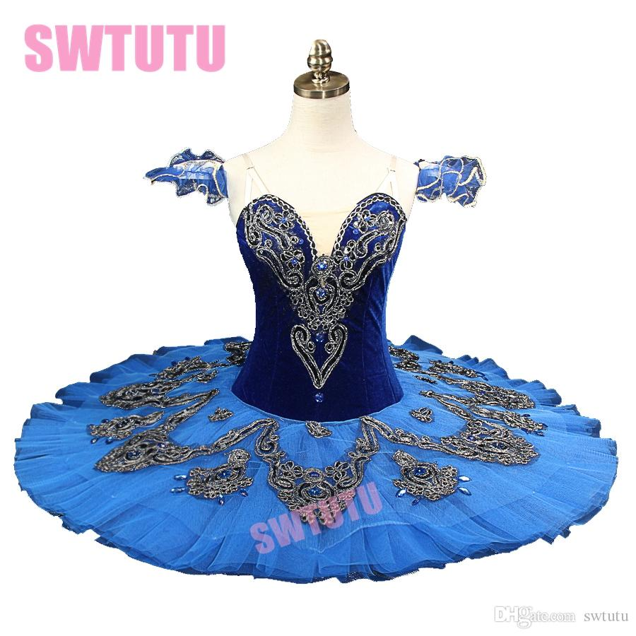 92d246e756 2019 Blue Bird Ballet Tutu Nutracker Costume BT8992A Classical Pancake  Ballet Tutu Professional Princess Florina Stage Tutu BT8992A From Swtutu