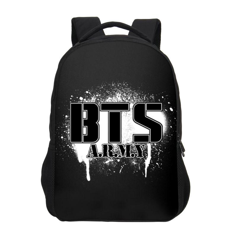 VEEVANV 2018 BTS Printing Children Backpacks Fashion School Backpacks For Teenagers  Girls Shoulder Bags Casual Travel Bags Boys Osprey Backpack Tool ... 59181bca88004