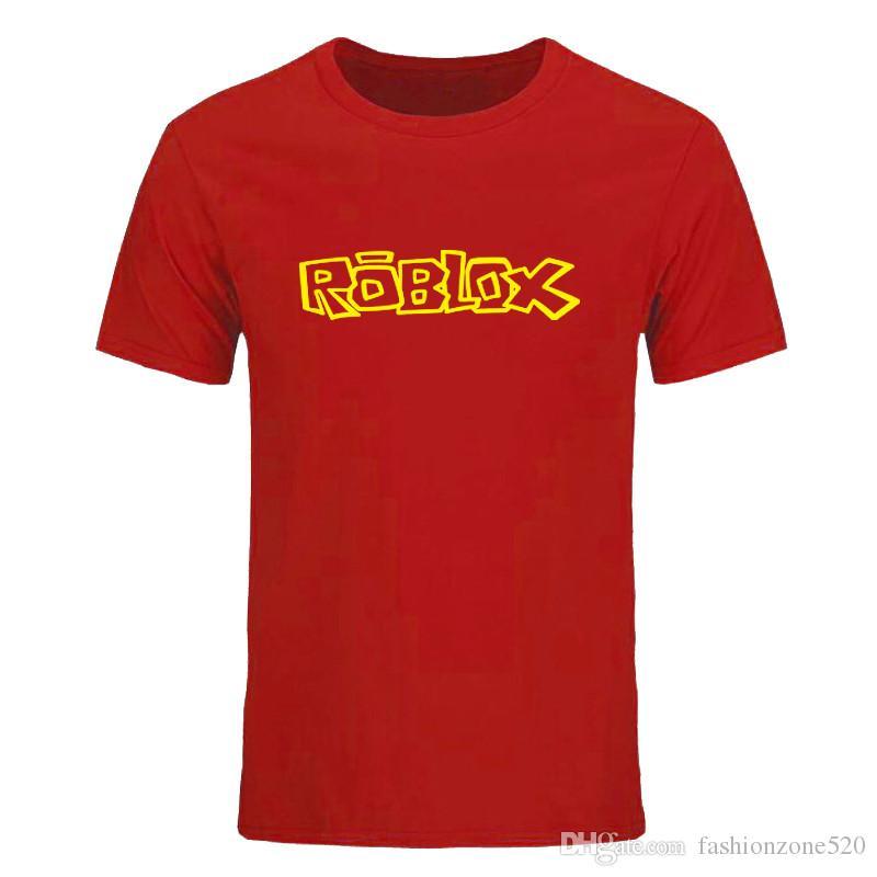New Summer Roblox T Shirt Men New Printed Short Sleeve Cotton Roblox Men T Shirts Game Tops Tees Diy 0600d T Shirts Designs Online T Shirt Shopping From Fashionzone520 7 15 Dhgate Com