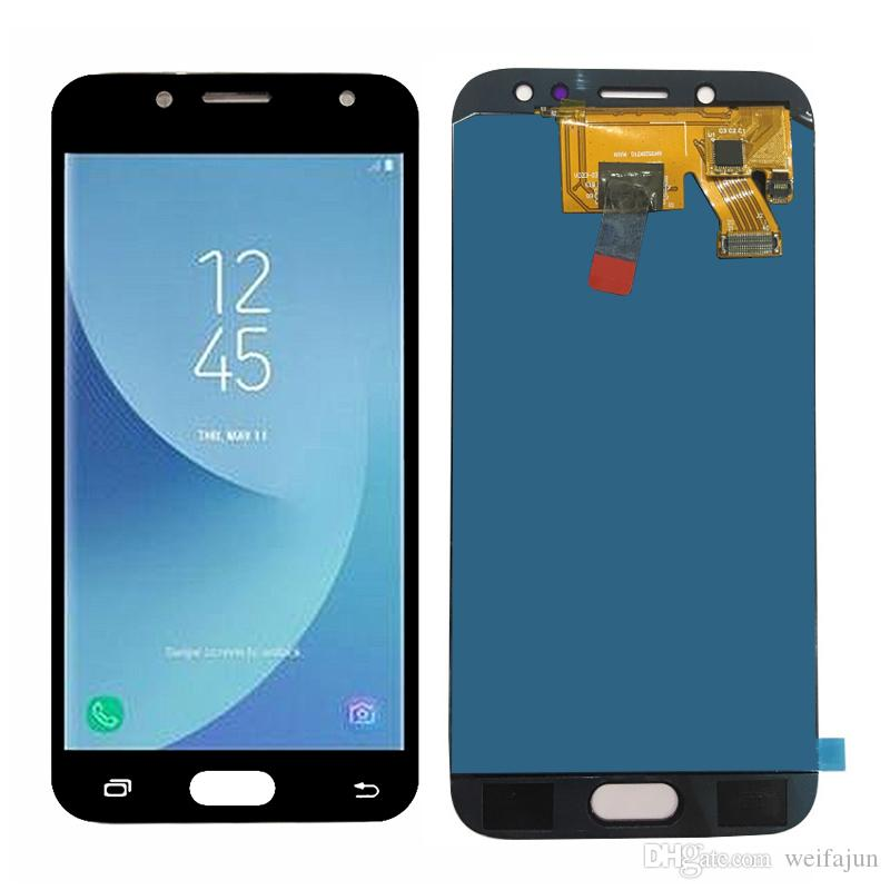 Adjust Brightness Good Tested Well working LCD Display + Touch Screen For  Samsung Galaxy J5 2017 J530 J530F Digitizer Assembly J5 Pro 2017