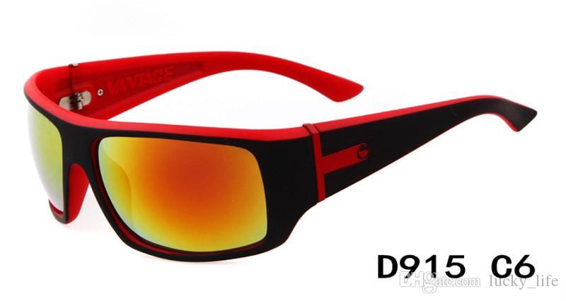 Yeni Moda Erkek Kadın Güneş Gözlüğü Sıcak Tasarımcı Erkek 915 Güneş Gözlüğü Kadın 10-Renk Karışımı En Kaliteli Miktar = 60