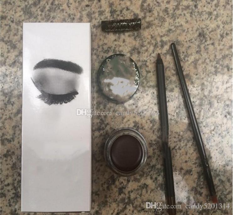 Yeni stok! 5 renkler Kozmetik Kahverengi VE Siyah Kiti Doğum Günü Edition Koyu Bronz Set DHL ücretsiz kargo L21