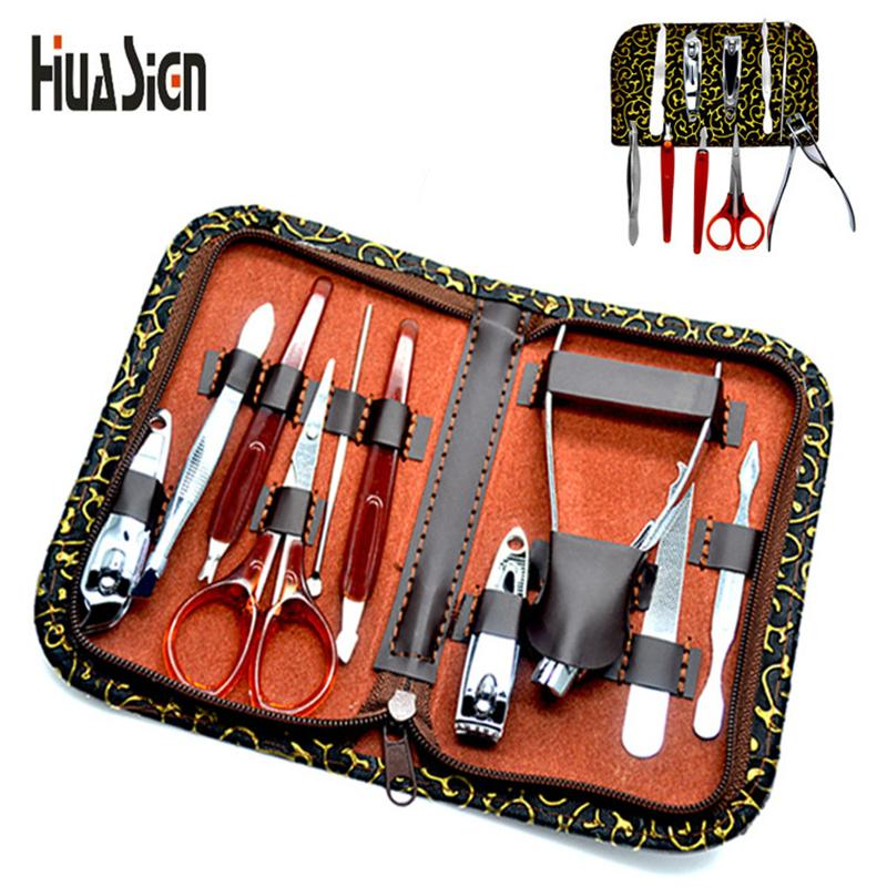 Nail Clippers Trimmer Kit Professional Utility Stainless Steel ...