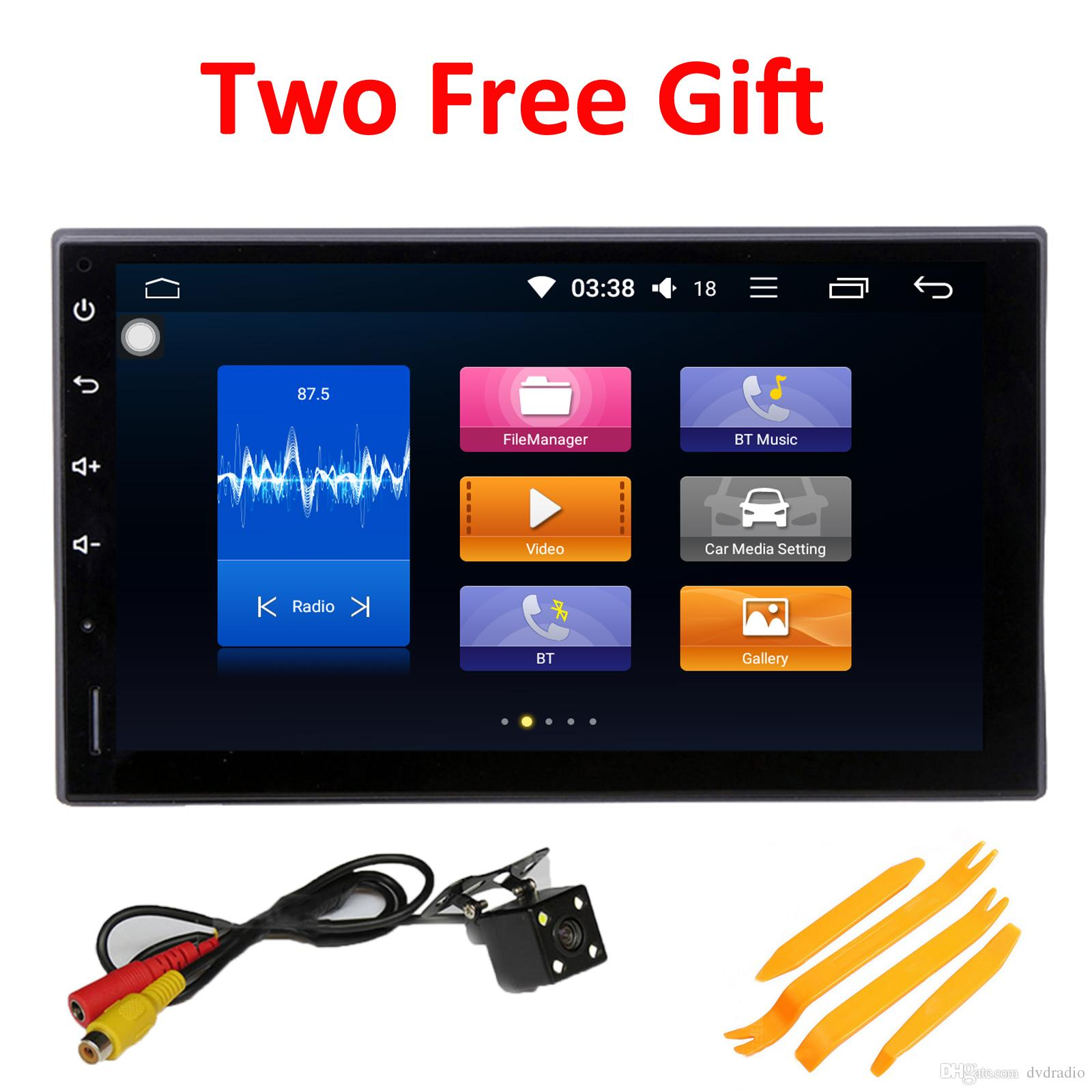 b7f1a543d COIKA Double Din Car DVD Player GPS Navi Radio Octa Core 4+32G RAM Android  8.0 System Car Head Unit WIFI 4G OBD DVR SWC BT RDS Mirror Screen