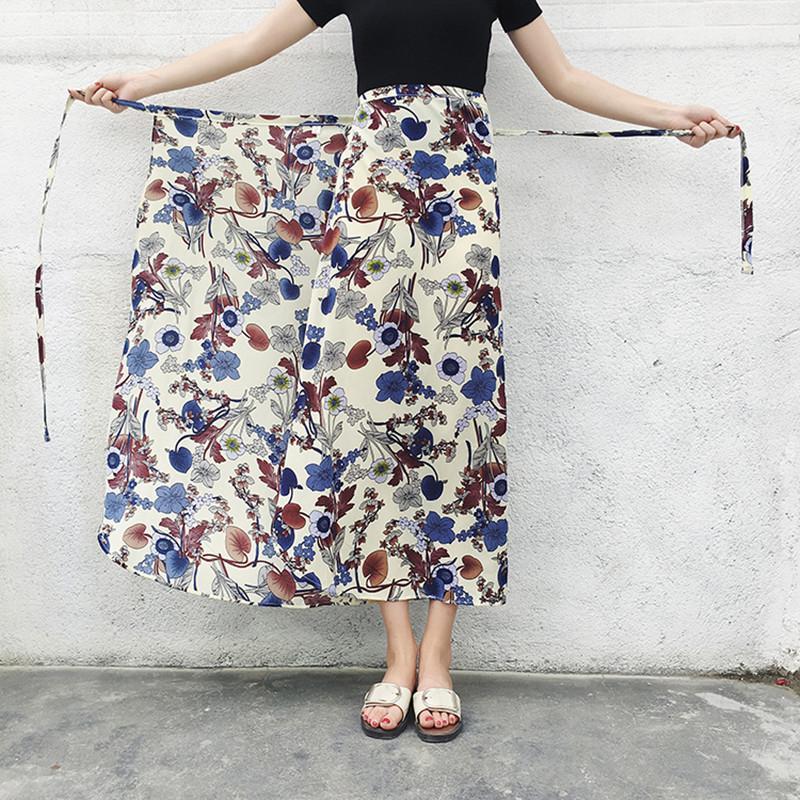 cf14a7df8c 2019 Traditional Thailand Clothing Floral Sarong Skirt Summer Casual Beach  Long Skirts Myanmar Long Gyi Wrap Skirt Saia Feminina From Biwanrou, ...