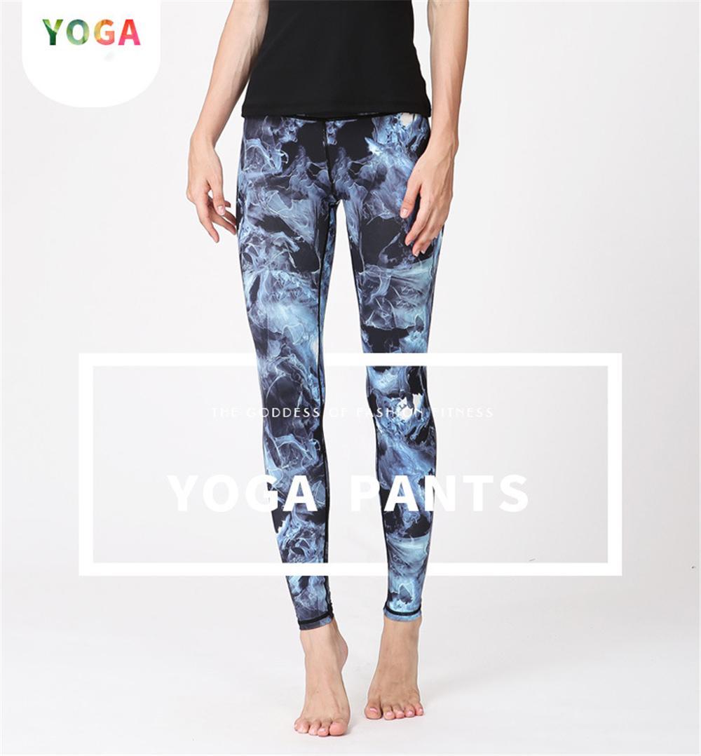 Acheter 2018 Femmes Imprimé Fantastique Océan Yoga Pantalon Mince Fitness  Leggings Courir Pantalon De Sport Gym Yoga Bas Leggings Sportswear De   41.93 Du ... 9f72a4fbbc3