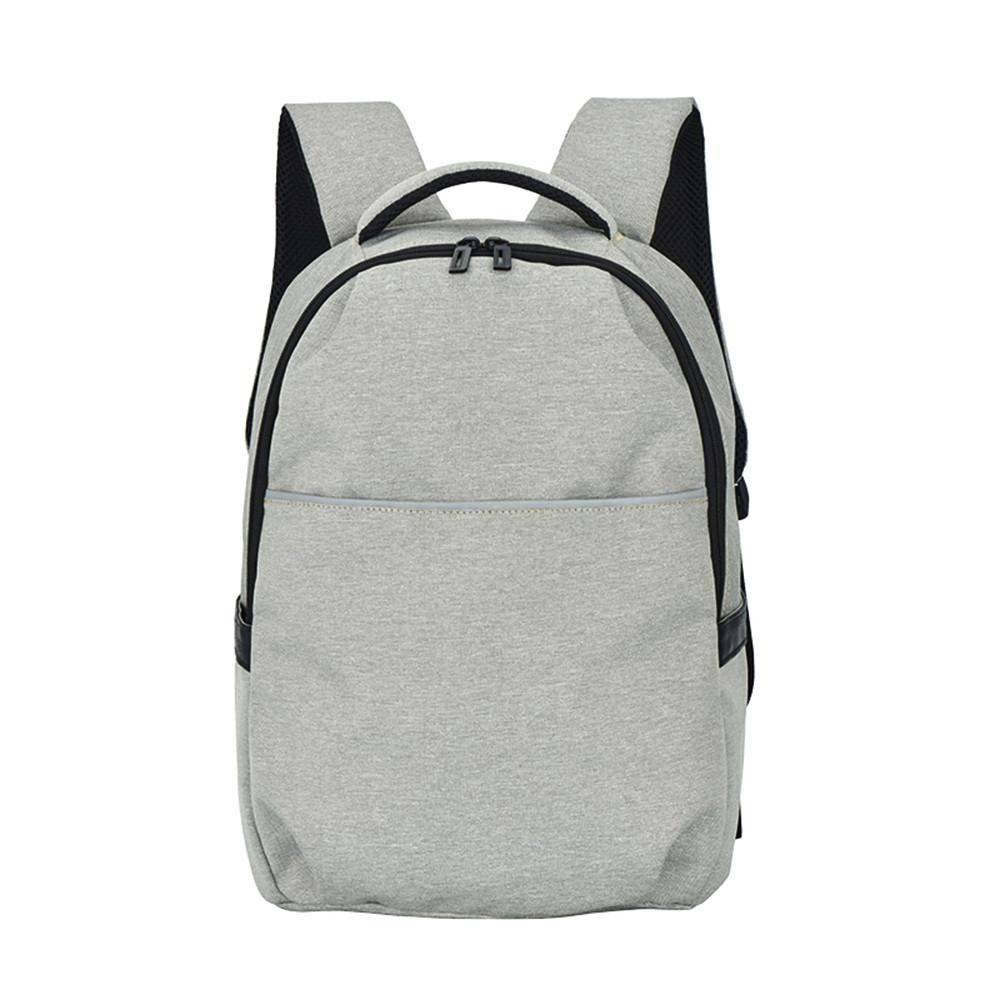 49999274e735 2018 Casual Solid Color Material Oxford Man S Backpack Multi Functional  Large Capacity Student Schoolbag Simple Bag 22 Messenger Bags Leather  Backpack From ...