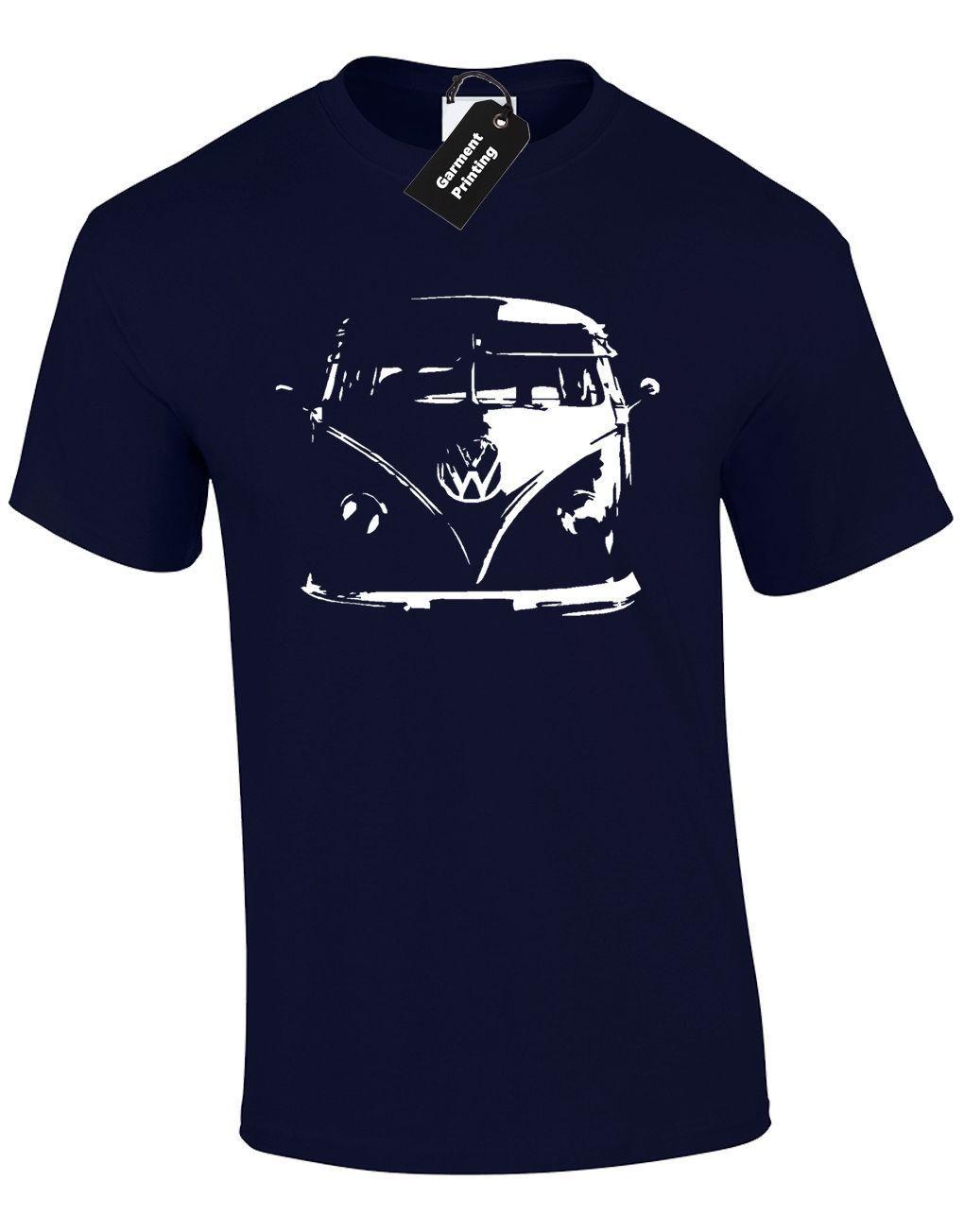 Camper Van Mens T Shirt Tee Design Camping Van Cool Car Inspired