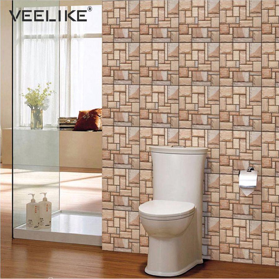 vintage 3d brick self adhesive wallpaper for kitchen backsplash rh dhgate com