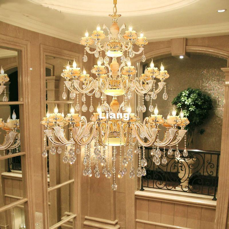 Europena Kristall Kronleuchter Luxus Wohnzimmer Dekoration Lampe Esszimmer Kronleuchter Moderne Led E14 Kronleuchter Hangeleuchte
